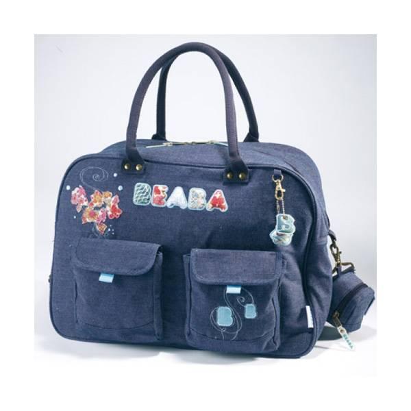 Сумка для мамы Denim baby bag Beaba.