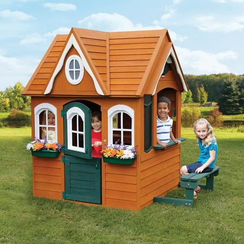 Домик для ребенка деревянный