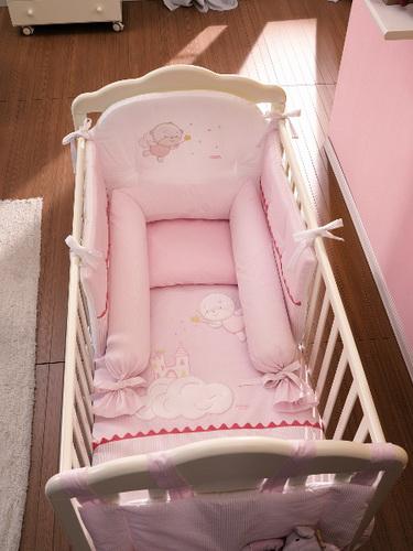Комплект для новорожденных в кроватку своими руками