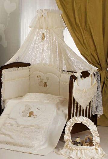 Кроватка с балдахином для новорожденного своими руками 76